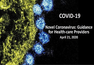 SRS Novel Coronavirus: Guidance for Health-care Providers 2020 - Online Banner